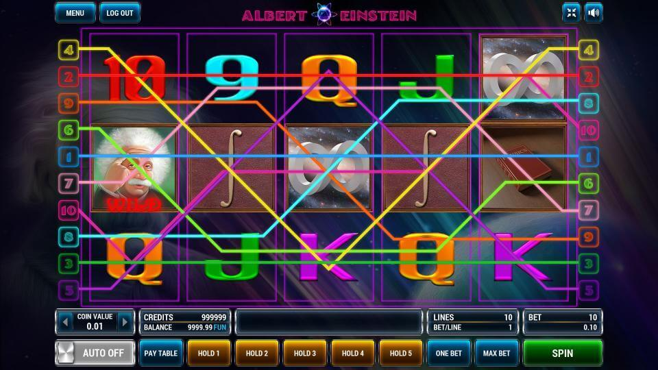 Изображение игрового автомата Albert Einstein 1