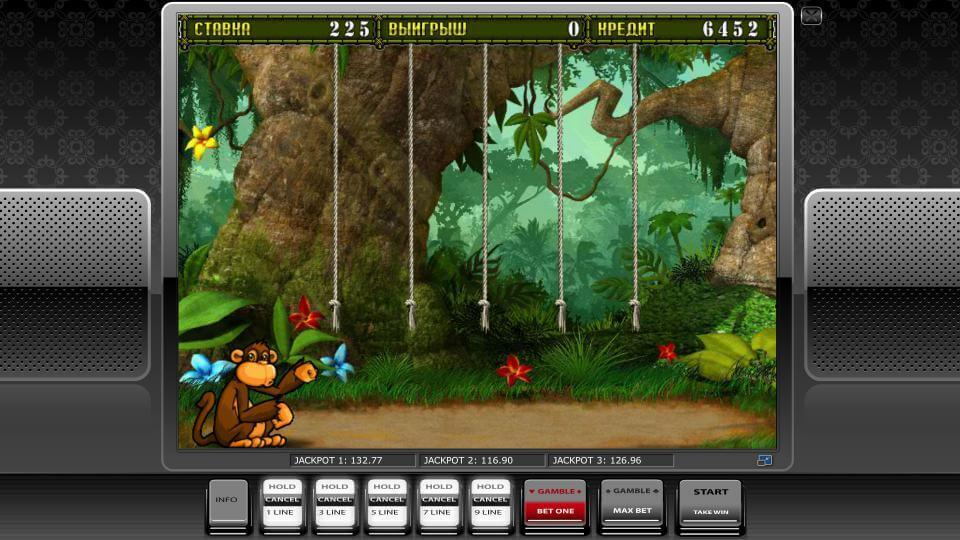 Изображение игрового автомата Crazy Monkey 2 3