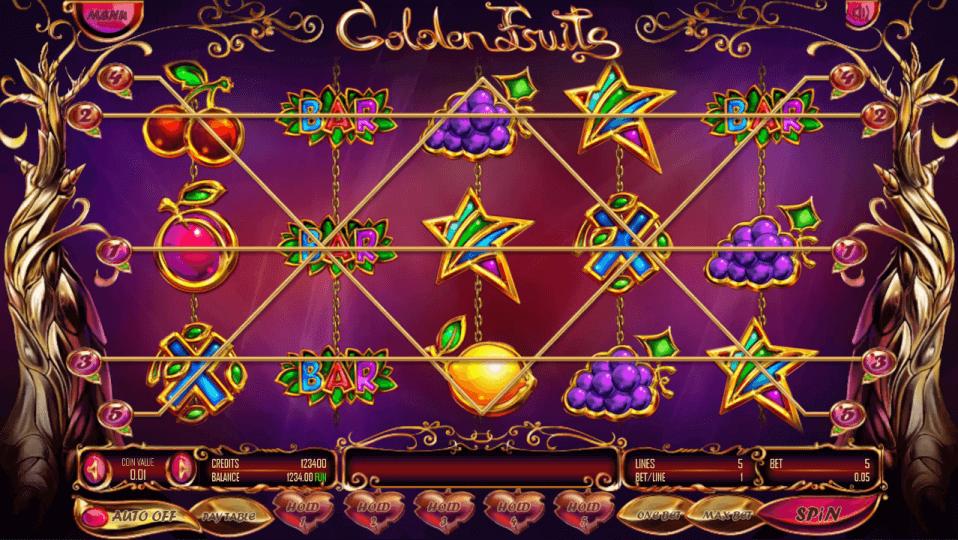 Изображение игрового автомата Golden Fruits 1