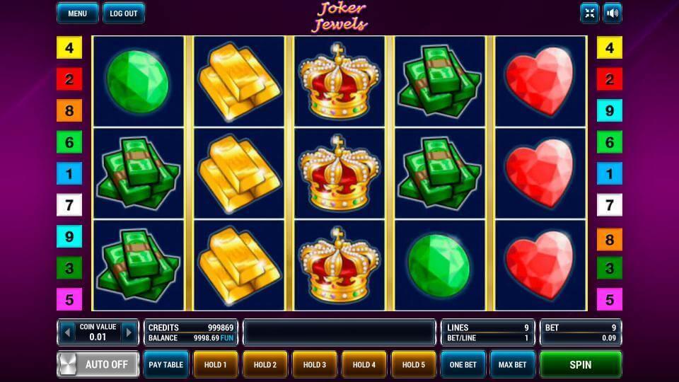 Изображение игрового автомата Joker Jewels 2