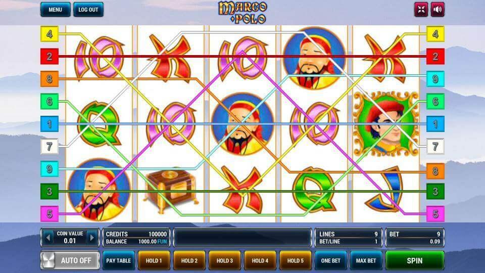 Изображение игрового автомата Marco Polo 1